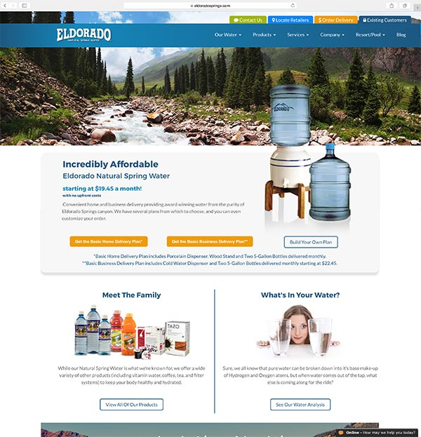 Eldorado Springs Client Portfolio