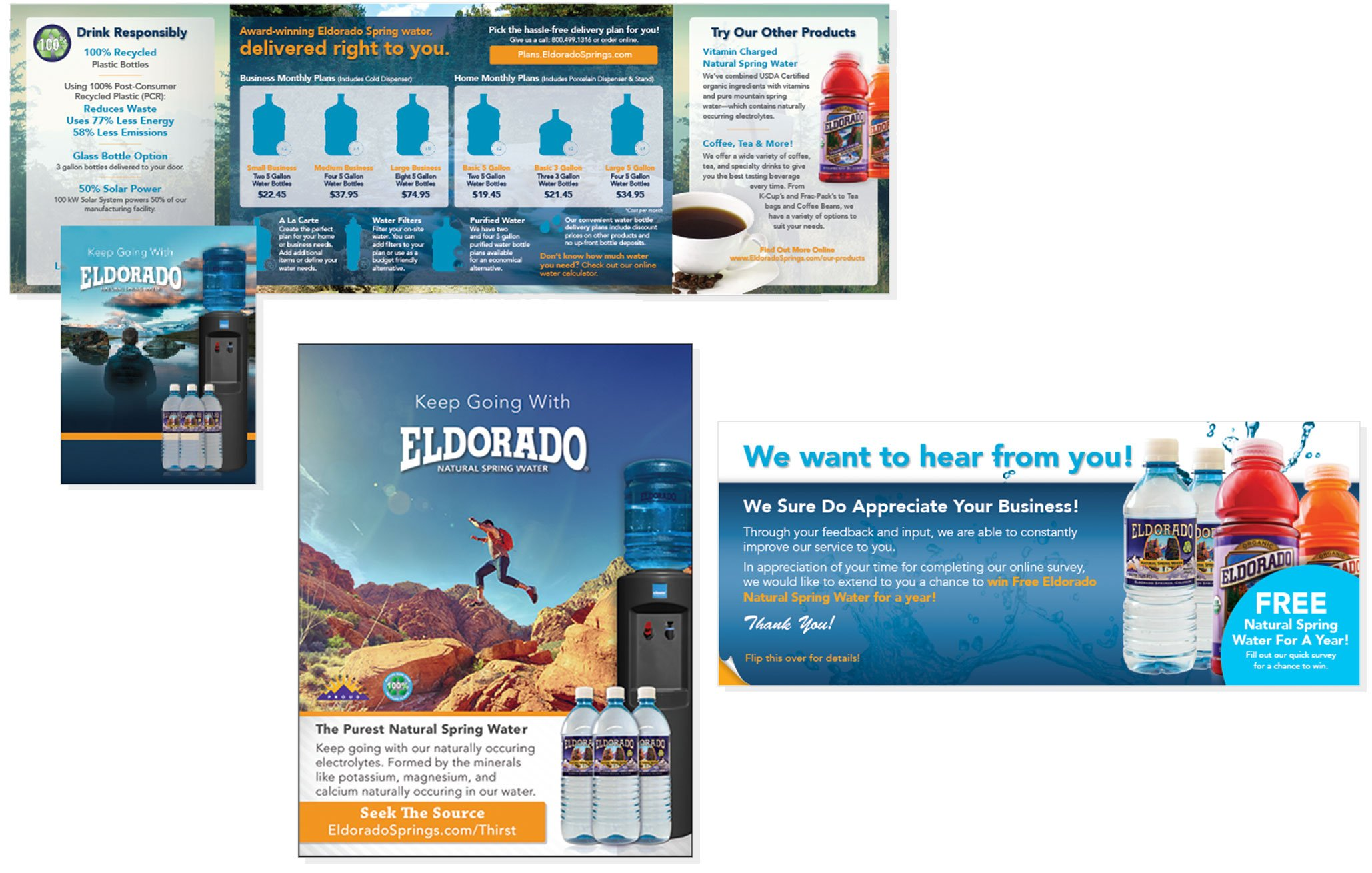 Eldorado Website Design Pages