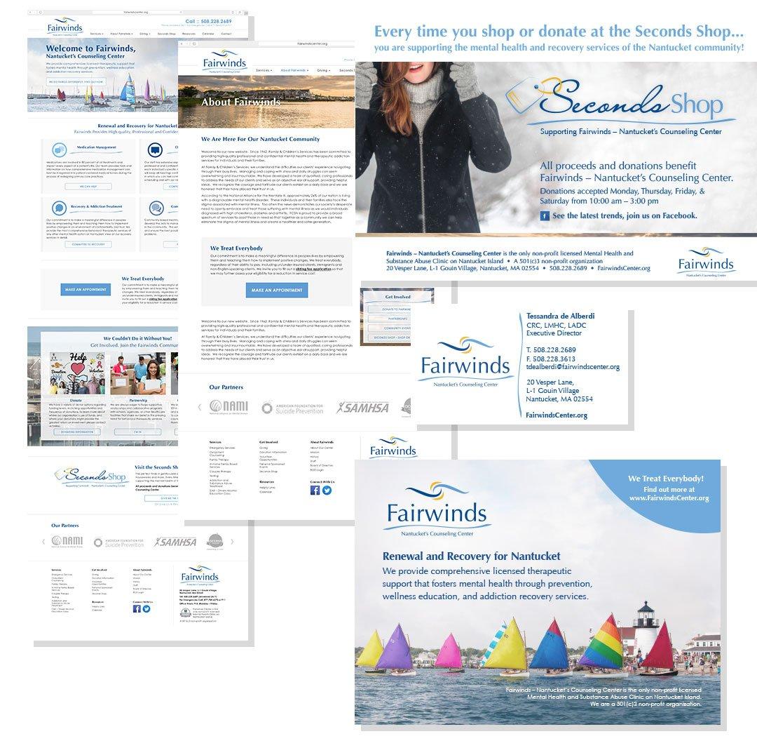 Fairwinds webpage design