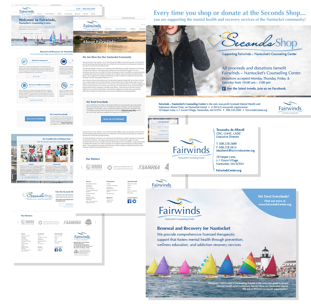Fairwinds webpage design