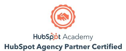 certified hubspot agency partner logo