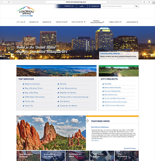 City of Colorado Springs Client Portfolio
