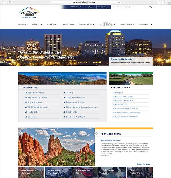 City of Colorado Springs Client Portfolio