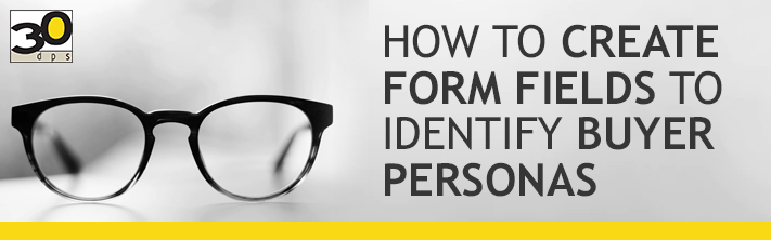 Identifying Buyer Persona with form fields