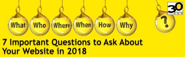 7 Important Questions to Ask About Your Website in 2018