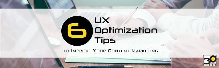 UX Optimization Tips