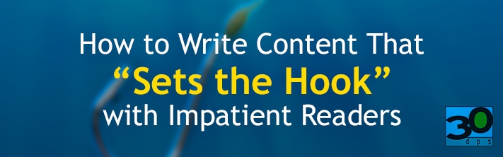 Writing content that keeps reader's attention