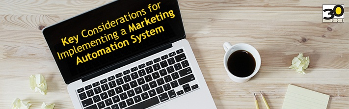What to consider before marketing automation