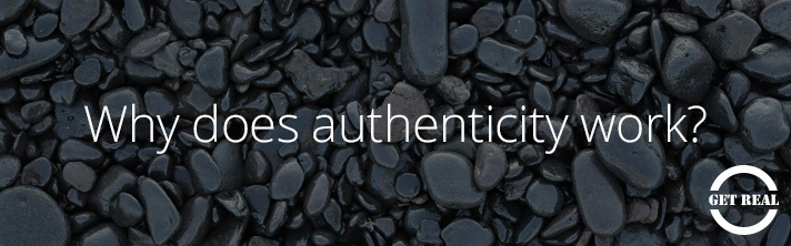 30dps: Why does authenticity work?