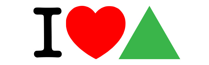 30dps: I Love Green Triangles